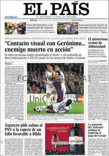 International press heaps praise on Barça