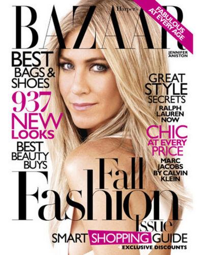 Jen Channels Barbra Streisand in Harper's Bazaar