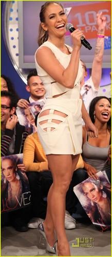 Jennifer Lopez: Cutout Dress for BET!