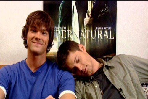 Supernatural Jensen Supernatural Jensen Jared