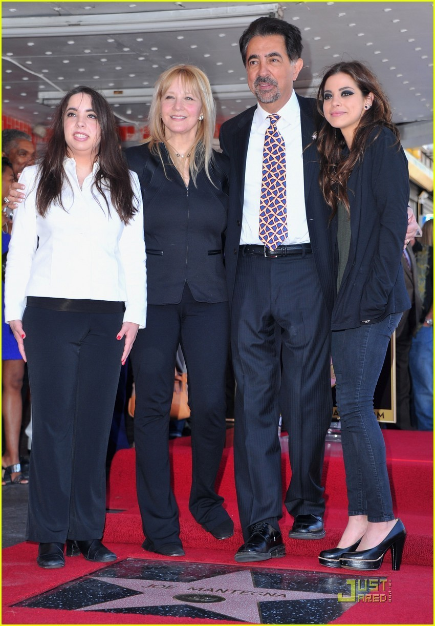 Family photo of the actor, married to Arlene Vrhel, famous for Cars 2 & Lonely Street.