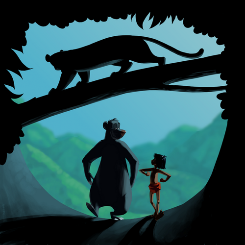 The Jungle Book wallpaper possibly containing a sign and a banana called Jungle Book