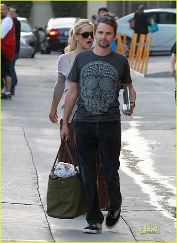 Kate Hudson & Matt Bellamy: Kimmel Visit!