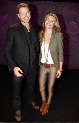 Kellan at 'Love, Loss, and What I Wore' on Broadway
