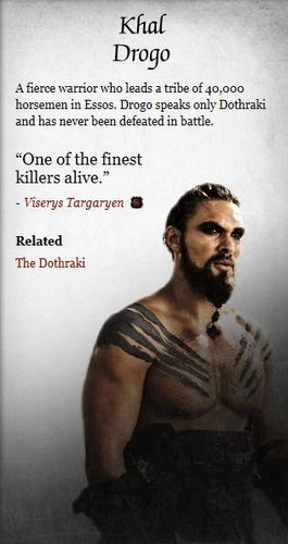 Game of Thrones wallpaper probably containing a newspaper and anime called Khal Drogo