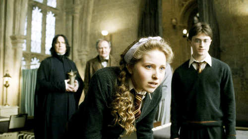 Lavender Brown with Harry Potter