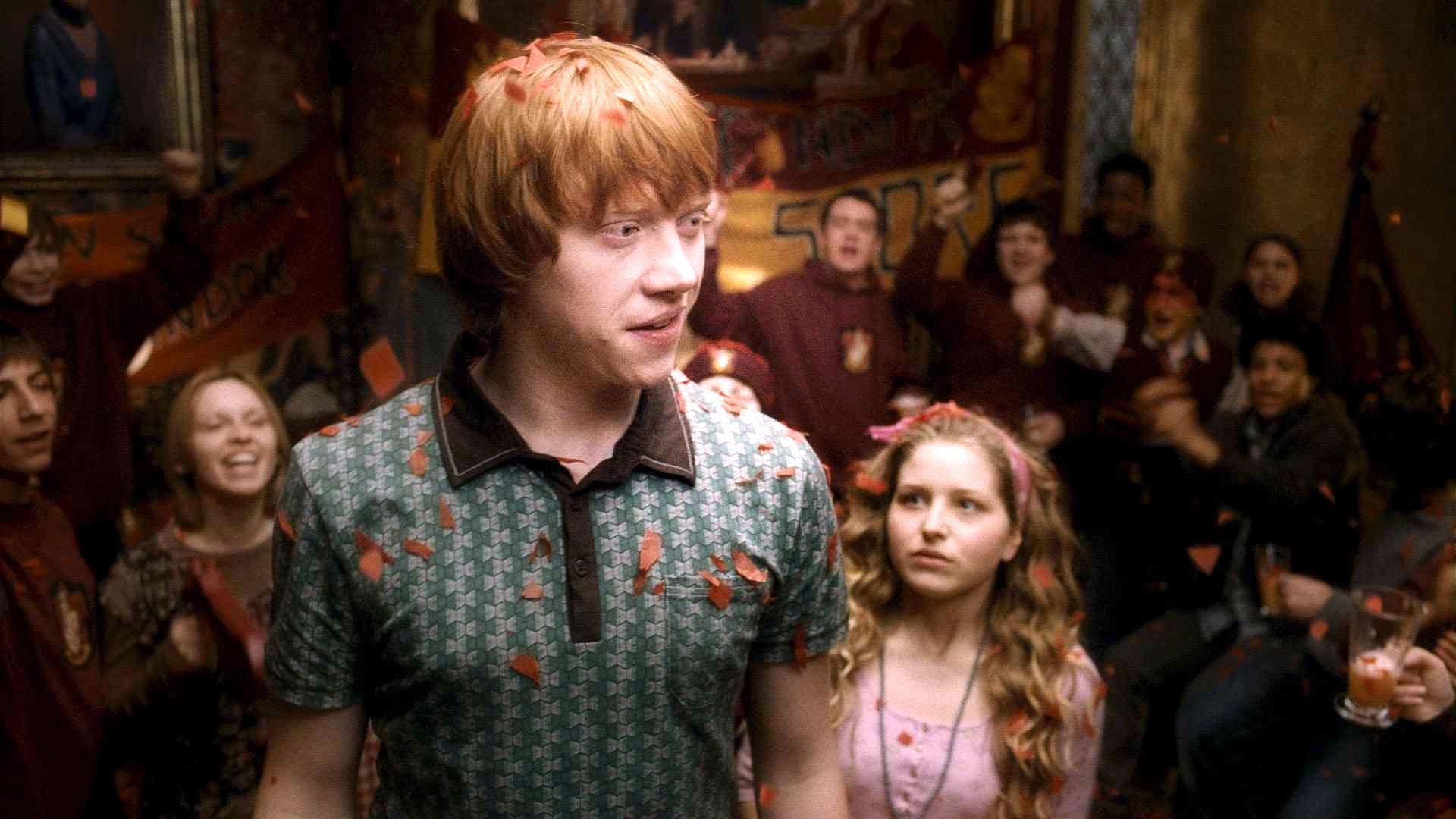 In harry potter and the half blood prince who was ron dating