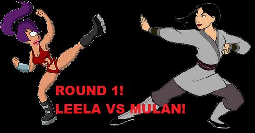 Leela vs mulan promo picture.