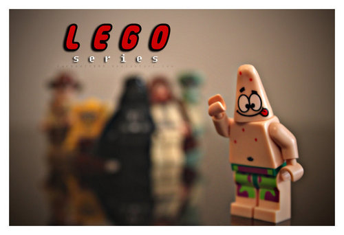 Lego Series As Patrick