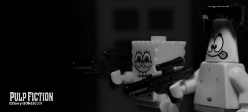 Lego SpongeBob And Patrick In Spy