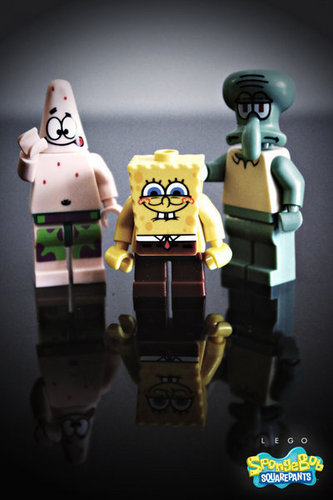 Lego SpongeBob Poster
