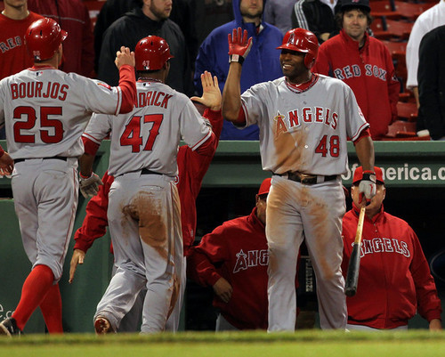 Los Angeles Ангелы vs. Boston Red Sox (May 4, 2011)