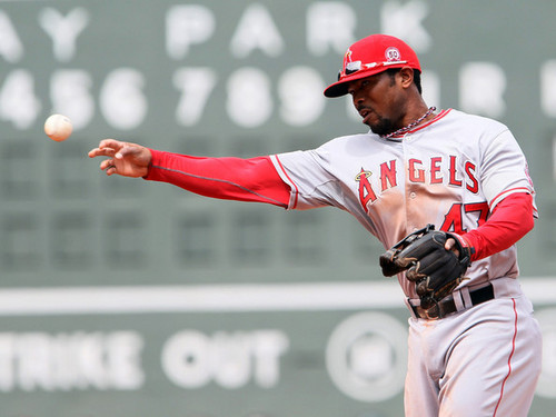 Los Angeles Ангелы vs. Boston Red Sox (May 5, 2011)