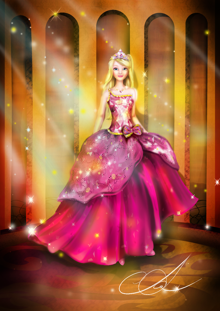 Barbie movies because if you are kind clever and brave - Barbie princesses ...
