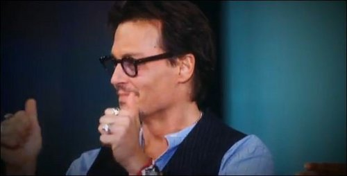 May 5 2011 johnny Depp At Oprah Winfrey Show