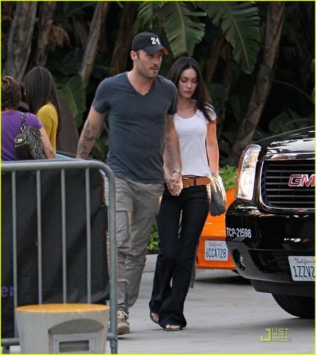 Megan & Brian out in LA