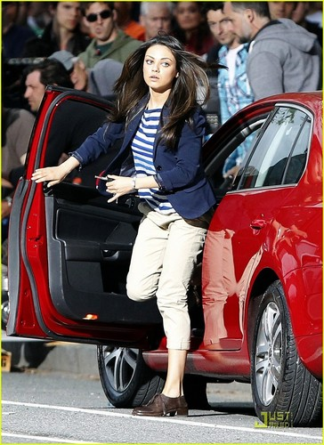 "Mila on set of ""Ted"""