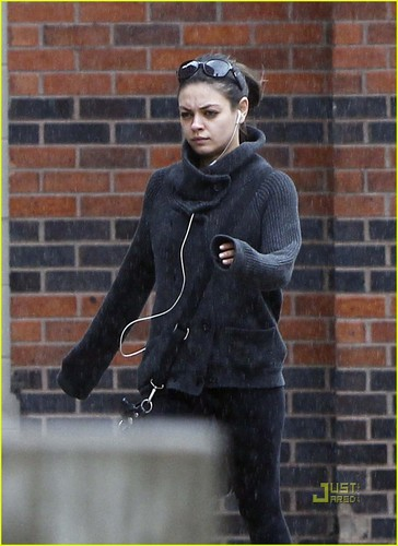 Mila out in Boston
