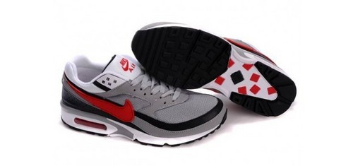 Nike Air Max Classic BW Men's Shoes Black Brown Red
