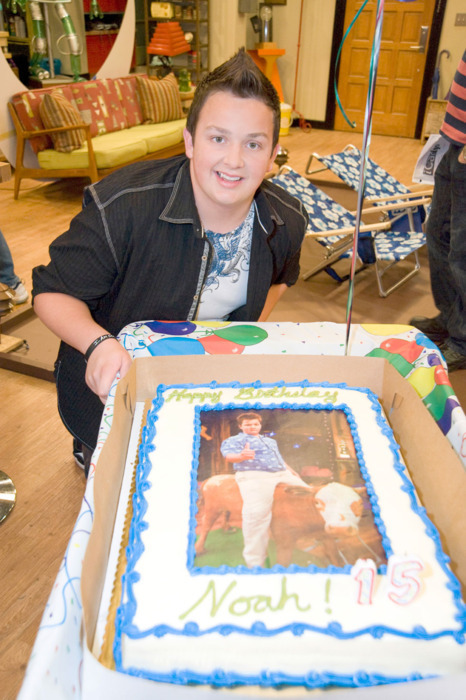 Noah Munck celebrates his 15th