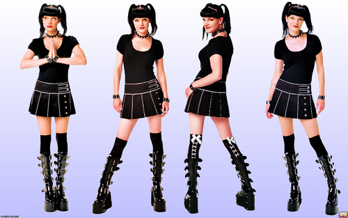 NCIS wallpaper titled Pauley Perrette (Abigail) Wallpaper