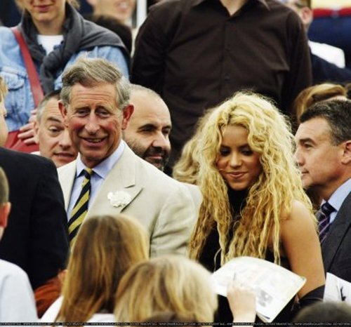 Prince Charles also like Shakira !!!