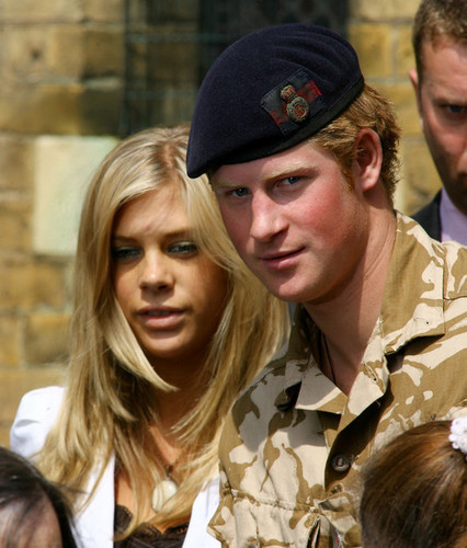 Prince Harry and Chelsy Devy