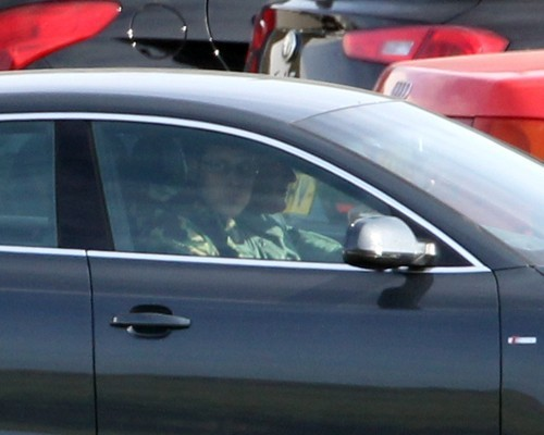 Prince William and Kate Middleton wallpaper possibly containing a hatchback entitled Prince William Gets Back To Work