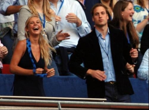 Prince William and his brother's girlfriend-Chelsy