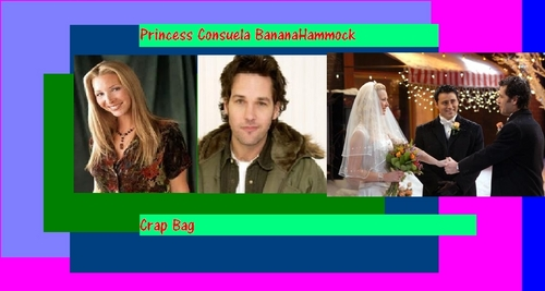 Princess Consuela Bananahammock and Crap Bag - phoebe-buffay Fan Art