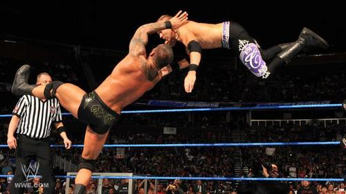 Randy Orton VS Christian - World Heavyweight Championship Match