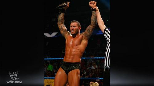 Randy Orton VS Christian - World Heavyweight Championship Match