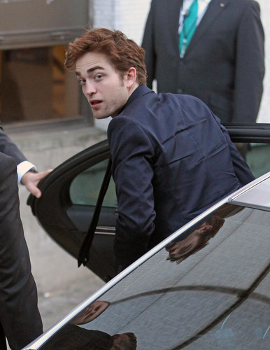 Rob Arrives At The Graham Norton Show