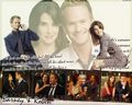 how-i-met-your-mother - Robin and Barney wallpaper