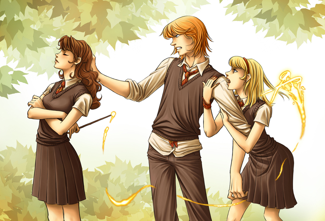 """Ron Hermione... and """"the other"""""""
