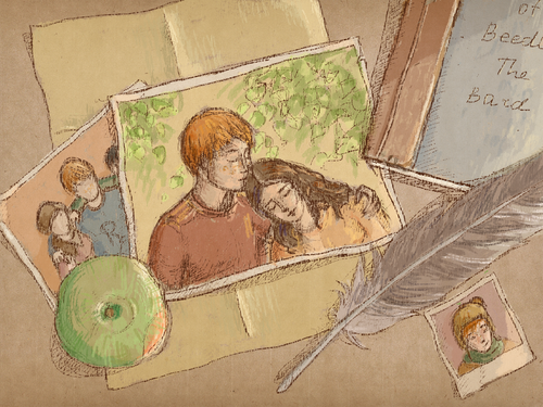 romione wallpaper entitled Ron-Hermione