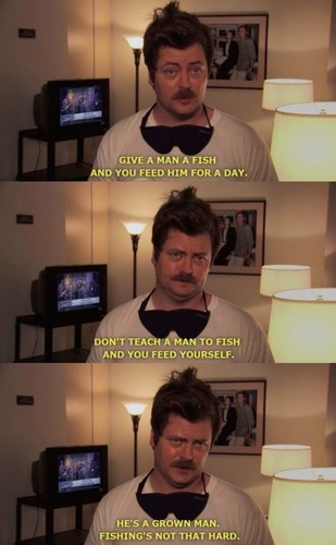 Ron and his fishing rule