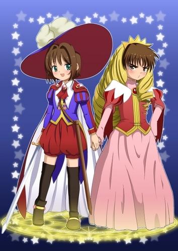 Sakura and Li- Prince and Princess