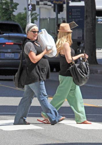 Shopping at Micheals - Santa Monica (May 2)