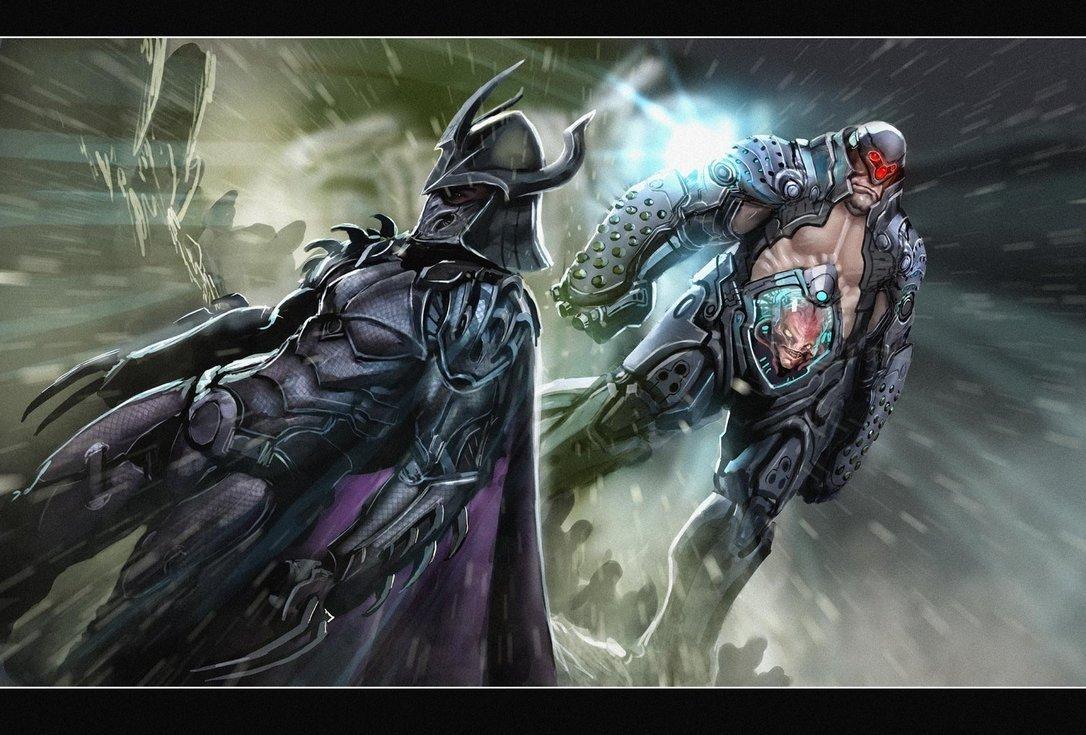 ninja turtles images shredder amp krang hd wallpaper and