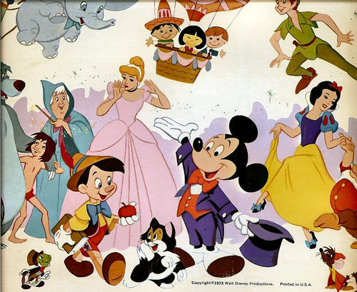 Some Classic Disney Characters