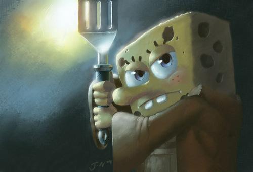 SpongeBob  Jedipants