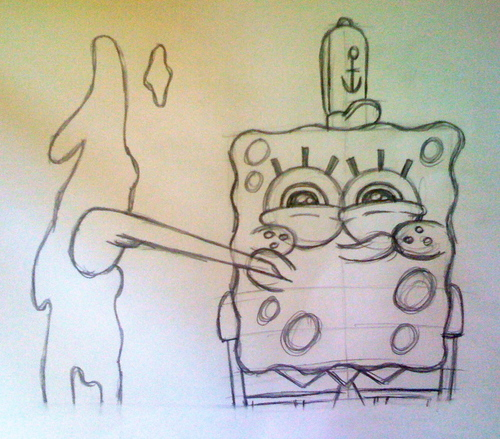 Spongebob Art