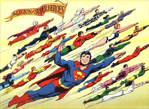 Superboy and the Legion