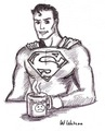 Superman's Monday - cartoon-drawing fan art
