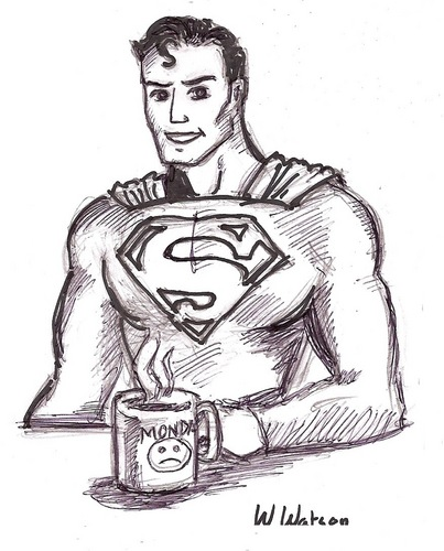 Superman's Monday