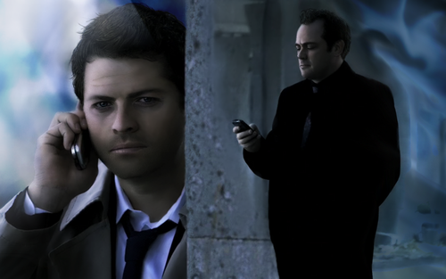 supernatural - Castiel Crowley
