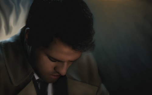 Supernatural - Castiel Pray