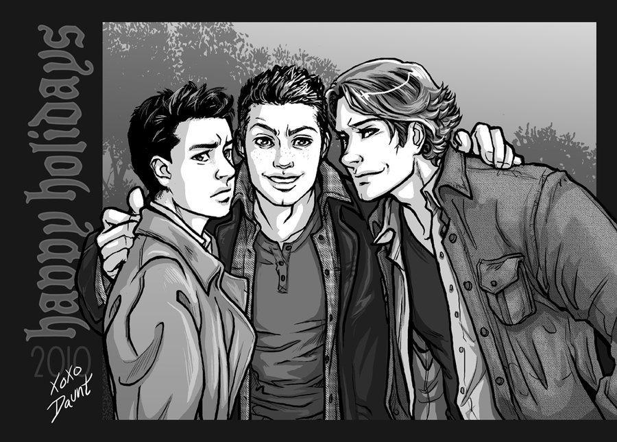 Castiel Fan Art Sketch