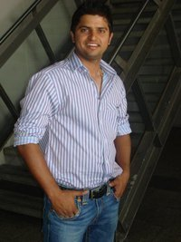 Suresh Raina - Handsome is not the word